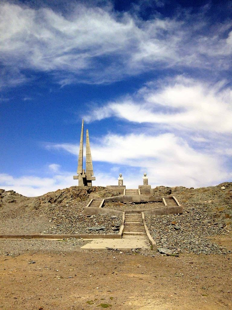 Denkmal in Khovd
