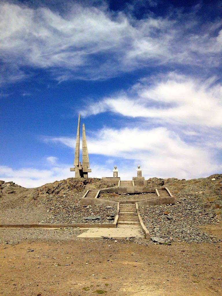 Denkmal in Khovd