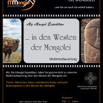 "27.1.: Multimediavortrag ""... in den Westen der Mongolei"""