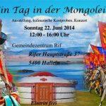 """22.6.: """"Ein Tag in der Mongolei"""" in Hallein"""
