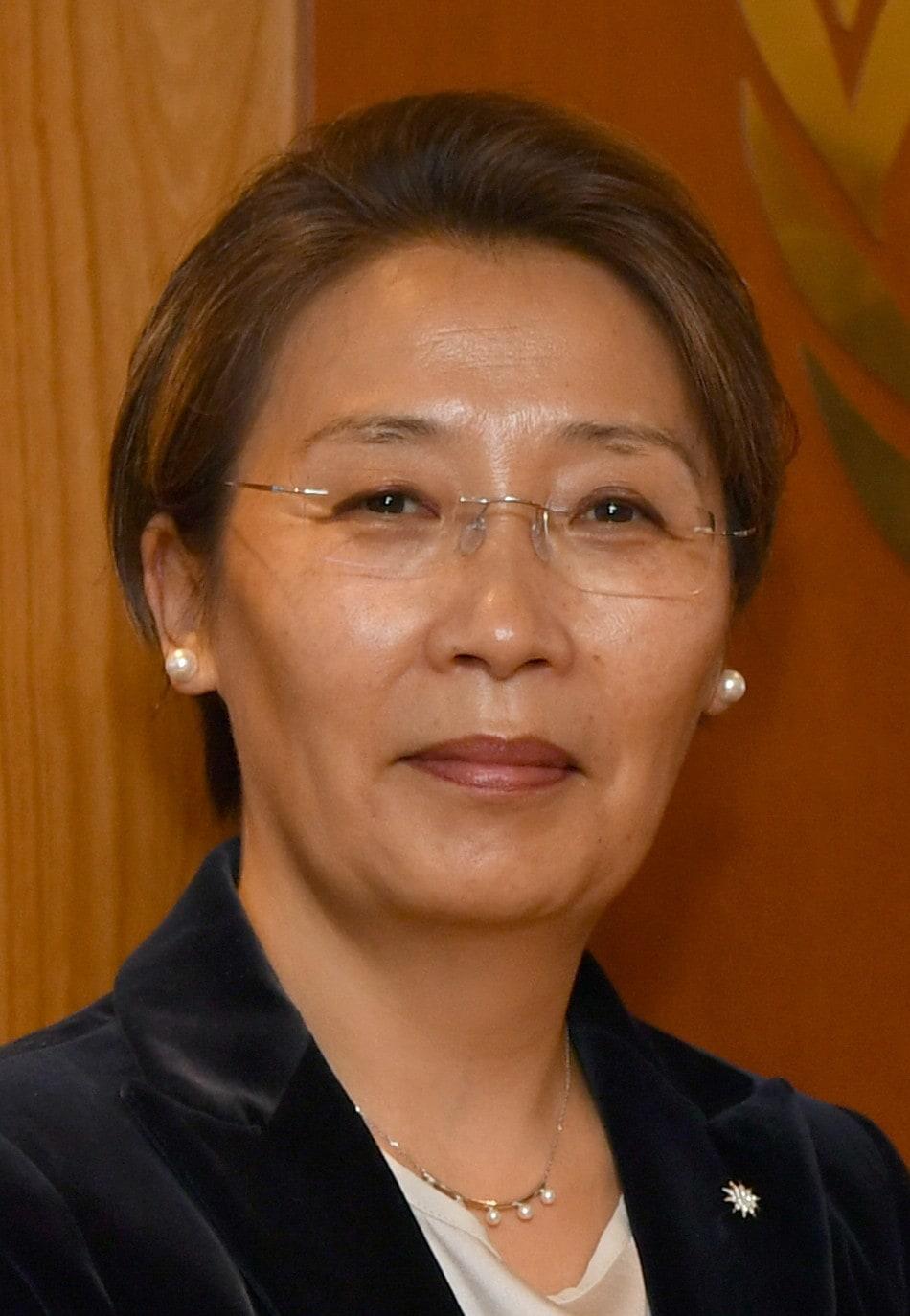 Botschafterin Gankhuurai Battungalag